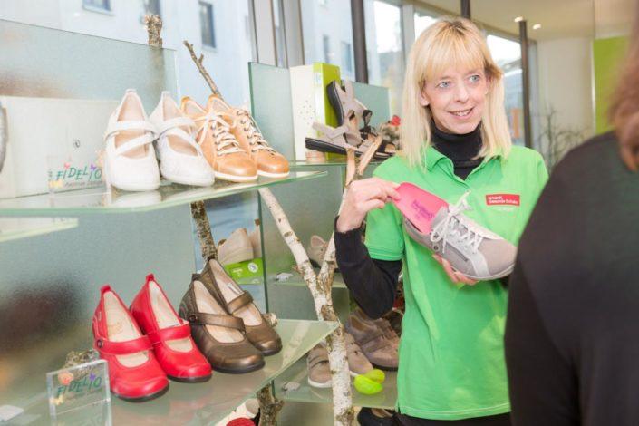 Erhardt Gesunde Schuhe Galerie Beratung Einlage Schuh