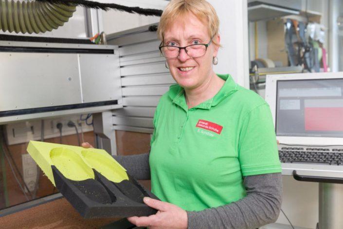 Erhardt Gesunde Schuhe Galerie Einlagenherstellung