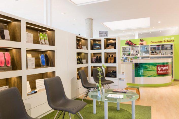 Erhardt Gesunde Schuhe Galerie Laden Innen