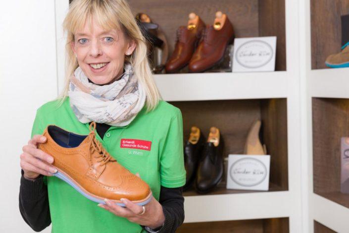 Erhardt Gesunde Schuhe Komfortschuhe Beratung Herrenschuh