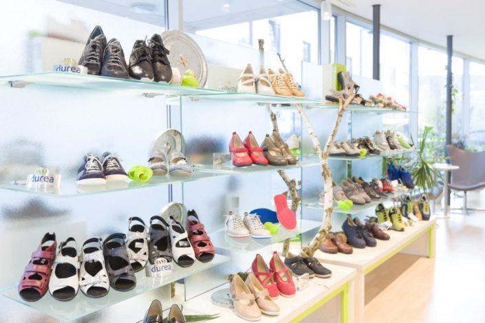 Erhardt Gesunde Schuhe Laden Innen Regal