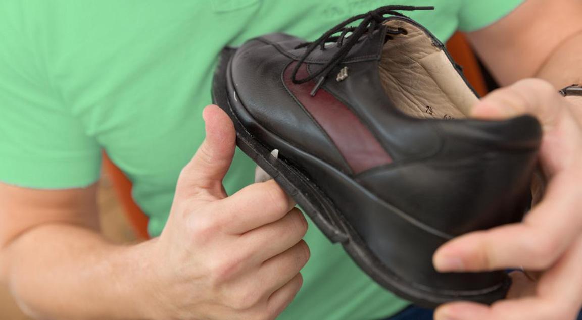 Erhardt Gesunde Schuhe Schuhzurichtungen